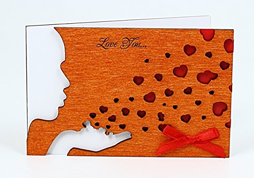 Wooden-Handmade-Real-Wood-Love-You-Tender-Kiss-with-Red-Hearts-Card-for-Dating-Wedding-Anniversaries-or-Best-Original-Happy-Birthday-Greeting-Card-for-Man-or-Woman
