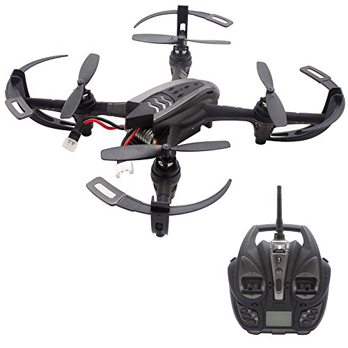 Leegor RC 6-axis Gyro Quadcopter With 0.3MP Camera WIFI FPV Drone 360° Rolling Headless Mode LED Helicopter One Key Return by Leegor