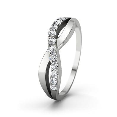 21diamonds Damen Ring Brookelyn Verlobungsring Zirkonia