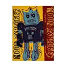 Moon Explorer Robot, c.1983 (blue & yellow) Art Print Art Poster Print by Andy Warhol, 18x24