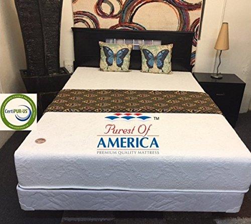 Valencia 6 Gel Memory Foam Bed Made In Usa Short Queen