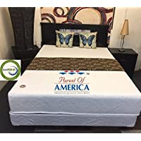9 Inch Flipable Double Sided Memory Foam & High Density Foam Mattress Size Cal King