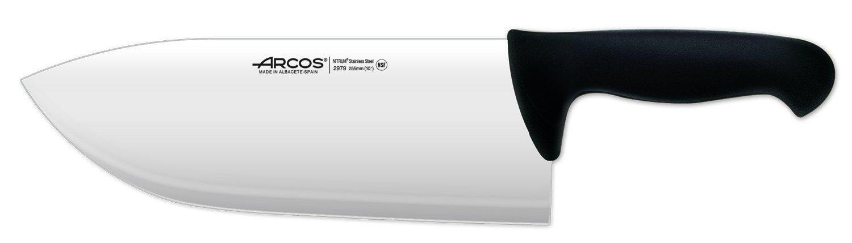 Arcos 10-Inch 255 mm 595 gm 2900 Range Cleaver, Black