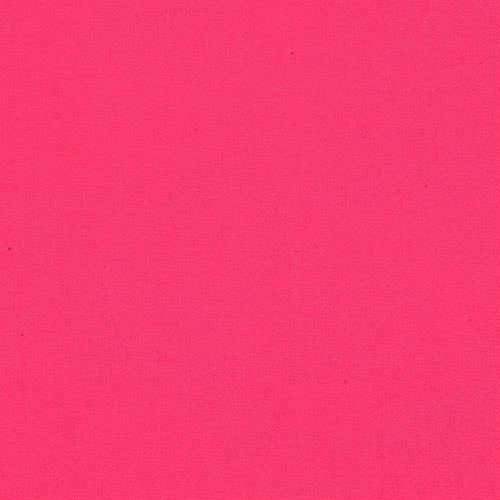 Carr Textile Micro Fiber DWR Poplin Hot Pink Fabric by The Yard,