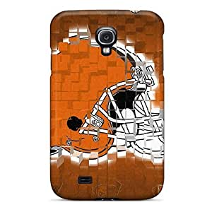 Bernardrmop Design High Quality Cleveland Browns Cover Case With Excellent Style For Galaxy S4