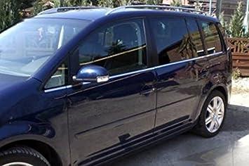 Cromados de ventana para Volkswagen Touran 2003 – 2009 (1T1,1T2), 8 piezas, de acero inoxidable: Amazon.es: Coche y moto