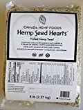 Canada Hemp Foods Seed Hearts Bag, 5 Pound
