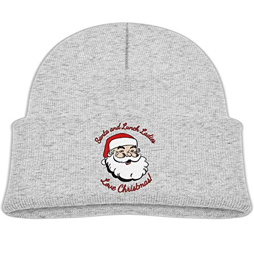 - Santa Lunch Ladies Love Christmas Knit Hats Toddler