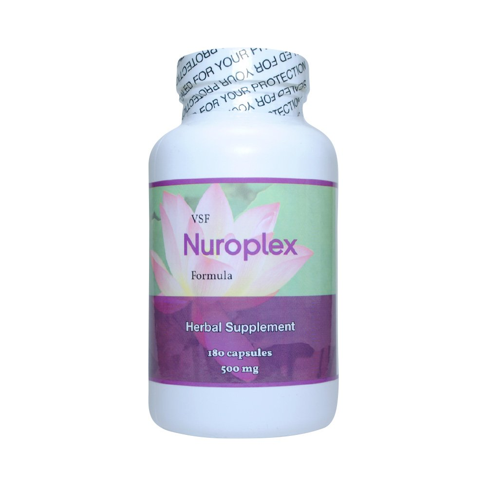 Allergic Pet Vet Select Nuroplex All-Natural Herbal Supplement - for Symptoms of Chronic Pet Seizures - 360 Capsules by Allergic Pet
