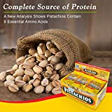 Keenan Farms Pistachios Snack Pack with Sea Salt