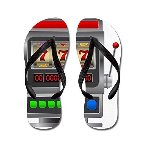 steamship n Slot Machine - Flip Flops, Funny Thong Sandals,