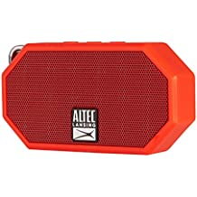 Altec Lansing IMW257 Mini H2O Wireless Bluetooth Waterproof Speaker (Red)
