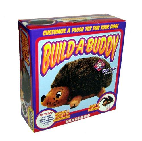 - Outward Hound Kyjen  Plush Puppies Build-A-Buddy Hedgehog 8-1/2-Inch Dog Toy
