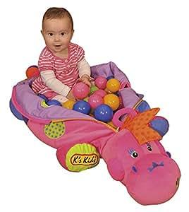 K's Kids - Maxi Dinosaurio Con Bolas, color rosa (KA10578)