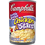 Campbell's Condensed Soup, Chicken & Stars, 10.5 Ounce (Pack of 24)