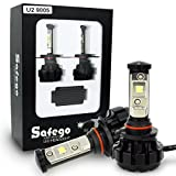 Safego 80w 9005 Cree Chip LED Car Headlight Kit Bulbs 8000LM HB3 Auto LED Conversion Kit 12v 2 Year Warranty Replace for Halogen Lights or HID Bulbs U2-9005