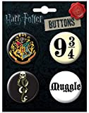 "Ata-Boy Harry Potter Favorites Assortment #4 Set of 4 1.25"" Collectible Buttons"