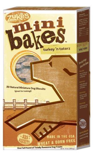 Zuke's 16-Ounce Mini Bakes Dog Treats, Turkey n' Taterz, My Pet Supplies