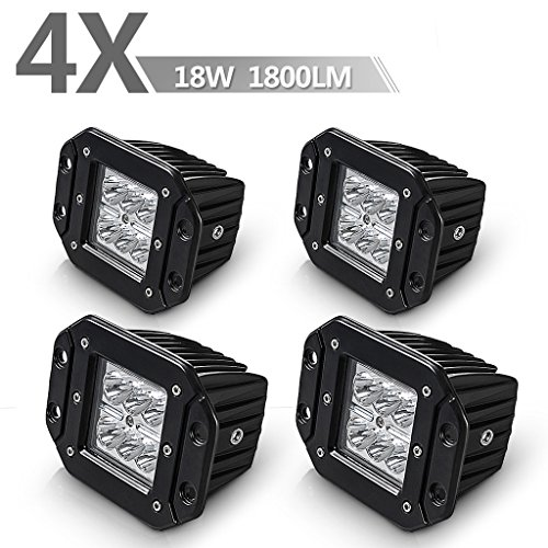 AUTOSAVER88-4PCS-Spot-Flood-Led-Work-Light-Bar-Off-Road-Fog-Driving-Roof-Bar-Bumper-for-SUV-Boat-Jeep-Lamp