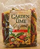 Garden Time Organic Pasta,  Rainbow Four Color Shells, Bulk 10-Pound Box
