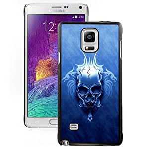 New Fashion Custom Designed Skin Case For Samsung Galaxy Note 4 N910A N910T N910P N910V N910R4 Phone Case With Floral Skull Phone Case Cover