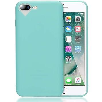 NALIA Funda Corazón Compatible con iPhone 7 Plus / 8 Plus, Carcasa Protectora Movil Silicona Ultra-Fina Gel Bumper Estuche, Goma Cubierta Cobertura ...