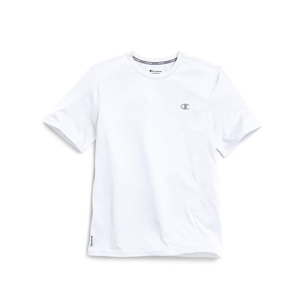 Champion Men's Double Dry T-Shirt, White, XL by Champion