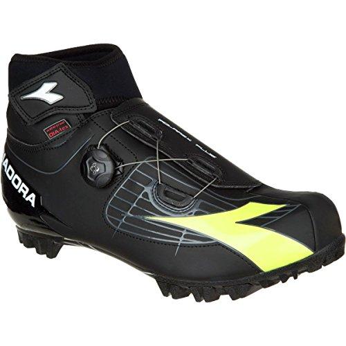 Diadora Polarex Plus Shoes - Mens Black/Yellow Fluo DD/White RRuMlOpm52