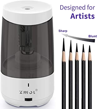 Zmol Long Point Heavy Duty Electric Pencil Sharpener