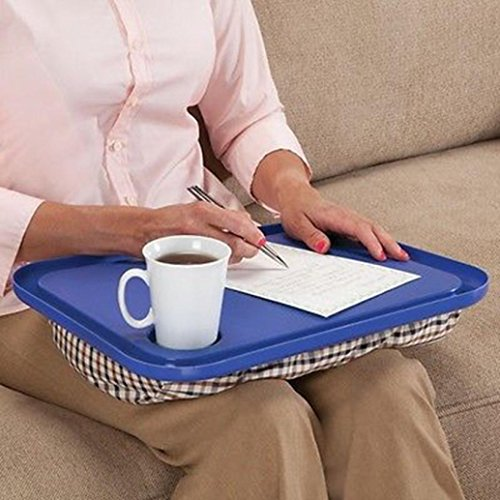 pillow tray with cup holder - 3