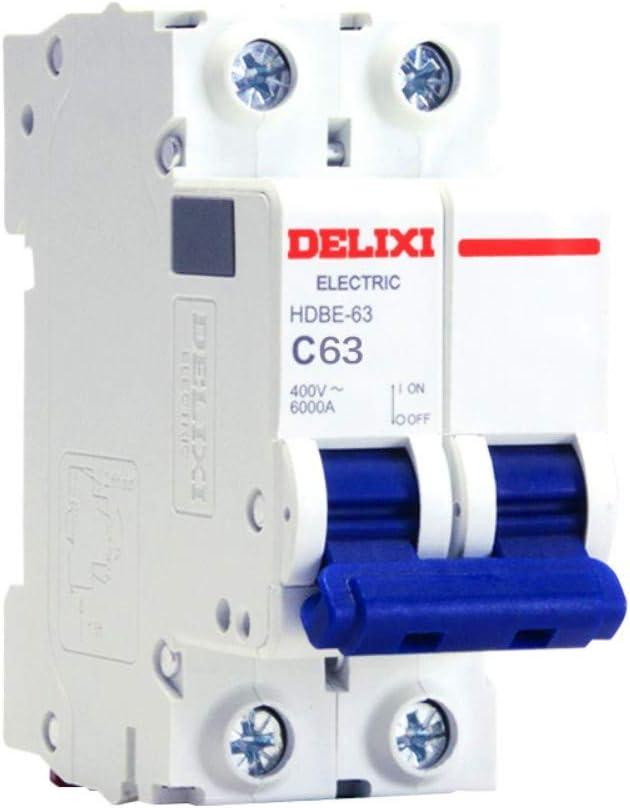 OIASD Interruptor de Circuito eléctrico HDBE-63 2P Serie ...