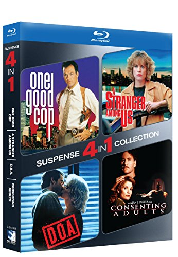 Blu-ray Suspense 4-pack - ONE GOOD COP/STRANGER AMONG US & D.O.A./CONSENTING ADULTS -