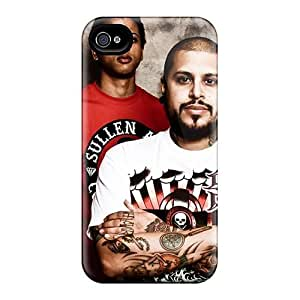 Hard Protect Phone Case For Iphone 4/4s (jan10225KnlQ) Allow Personal Design Vivid Papa Roach Series