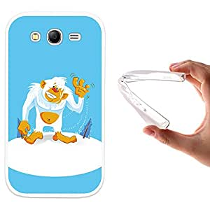WoowCase - Funda Gel Flexible { Samsung Galaxy Grand Neo } Yeti Carcasa Case Silicona TPU Suave