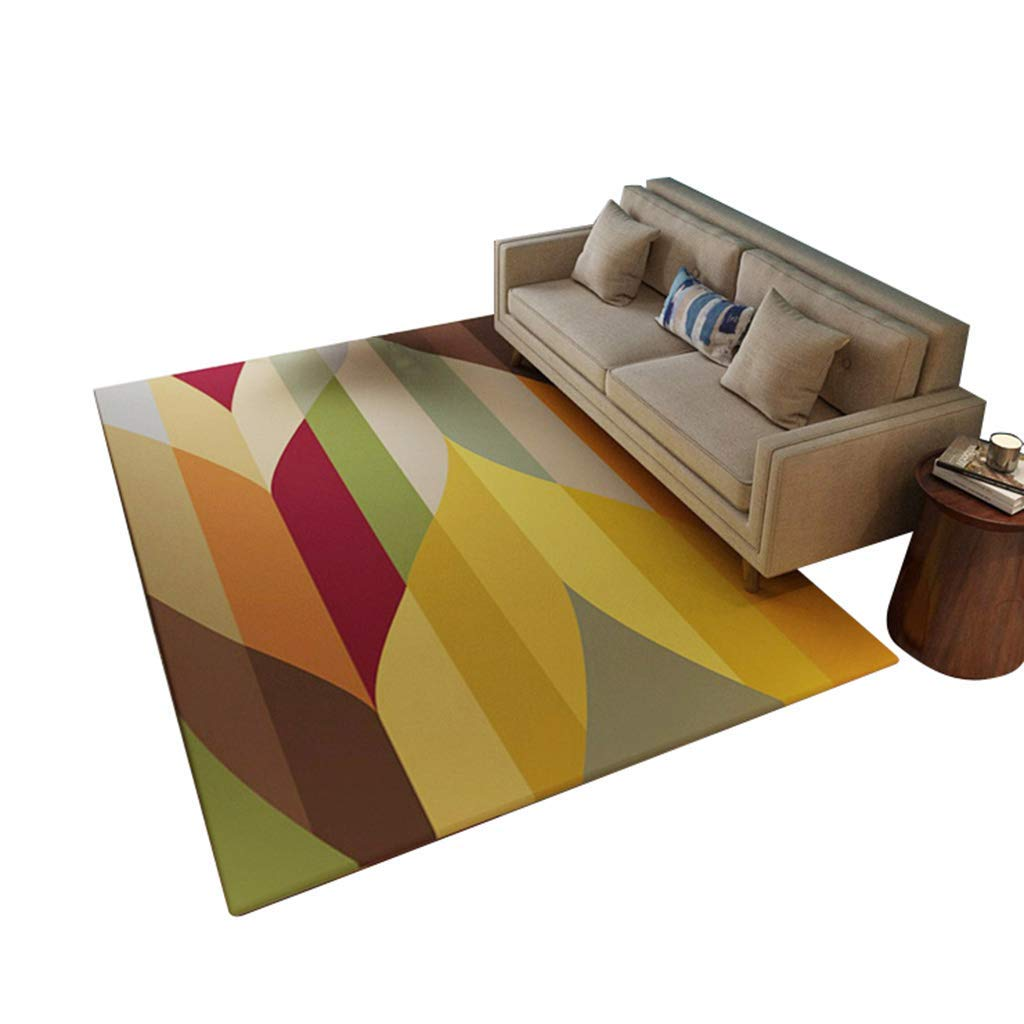 現代のミニマリストスタイルデザイナーカーペット長方形のリビングルームのコーヒーテーブルソファ敷物寝室のベッドサイド大型カーペットと幾何学模様(サイズ:160×230 cm) (サイズ さいず : 180×280cm) B07PTR8QBH  180×280cm