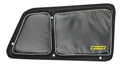 Nelson-Rigg RG-002 Black Rear Upper Door Bag Set