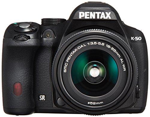 ペンタックス K50 ブラック レンズキット DA L 1855mm F3.55.6AL WR