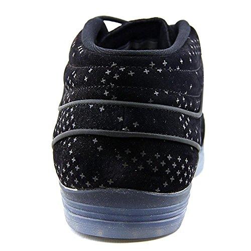 Nike Lunar Stefan Janoski Mid Flash, Scarpe da Skateboard Uomo Nero (Negro (Black / Black-clear))