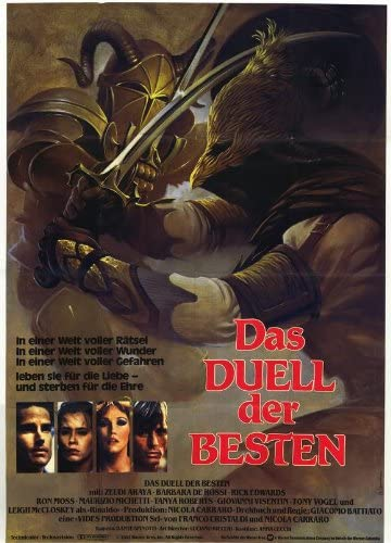 Corazones y armadura Póster De película - 11 x 17 en alemán ...