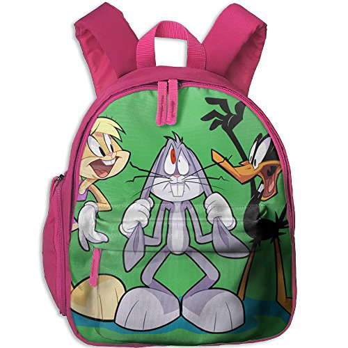 Lola Bunny Bugs Bunny And Daffy Duck Fashion And Colorful Kids Kindergarten Backpack, Comfortable Shoulder (Bugs Bunny And Lola Costumes)