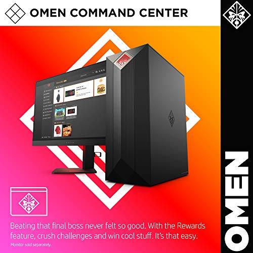 OMEN by HP Obelisk Gaming Desktop Computer, 9th Generation Intel Core i9-9900K Processor, NVIDIA GeForce RTX 2080 SUPER 8 GB, HyperX 32 GB RAM, 1 TB SSD, VR Ready, Windows 10 Home (875-1023, Black) 8