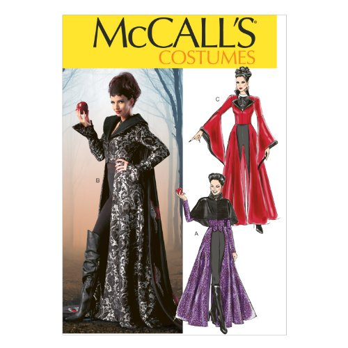 Mccalls Patterns Costumes (McCall Pattern Company M6818 Misses' Costumes Sewing Template, Size D5)