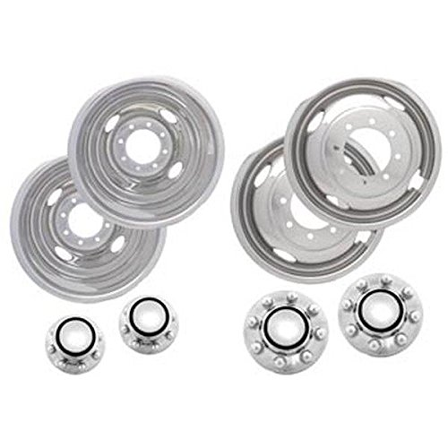 Kaper II SS-1604-C35 Polished Stainless Steel Chevrolet T...