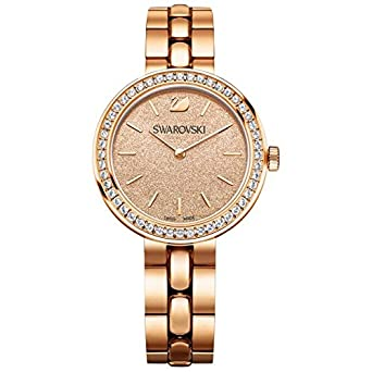 Swarovski watch 5182231 Woman Daytime Peach Pink gold