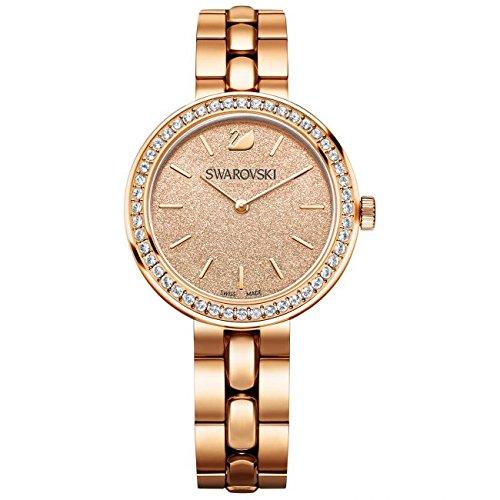 Swarovski Reloj analogico para Mujer de Cuarzo con Correa en Acero Inoxidable 5182231: Amazon.es: Relojes