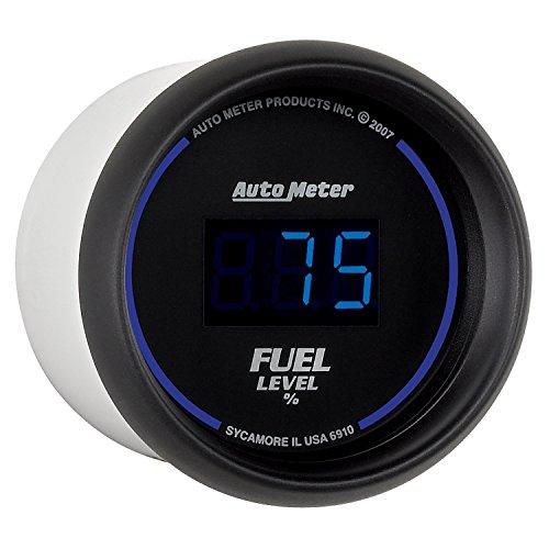 Auto Meter 6910 Cobalt Digital 2-1/16'' 0-280 ohm Digital Fuel Level Programmable Empty - Full Range with Preset by Auto Meter (Image #4)