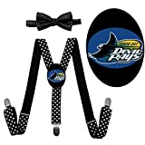 Devil Rays Unisex Boys Girls Adjustable Bow Ties & Suspender Sets Gift