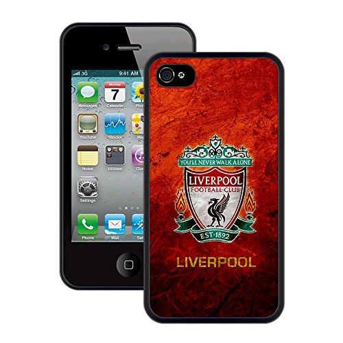 Liverpool | Handgefertigt | iPhone 4 4s | Schwarze TPU Hülle