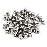M4 Acorn Cap Nut Hex Nut Set 304 Stainless Steel 50PCS