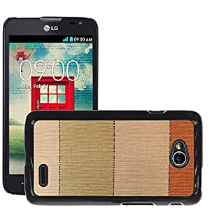 Etui Housse Coque de Protection Cover Rigide pour // M00151979 Resumen Antecedentes Beige Lienzo // LG Optimus L70 MS323